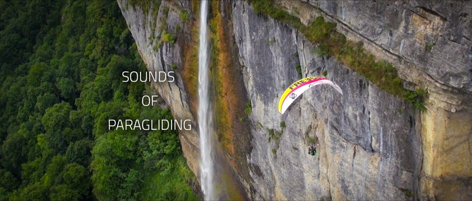 Sound of paragliding
